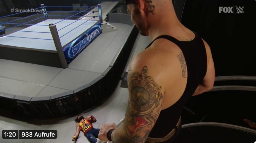 Elias vs. King Corbin - WWE SmackDown - (c) 2020 WWE. All Rights Reserved.