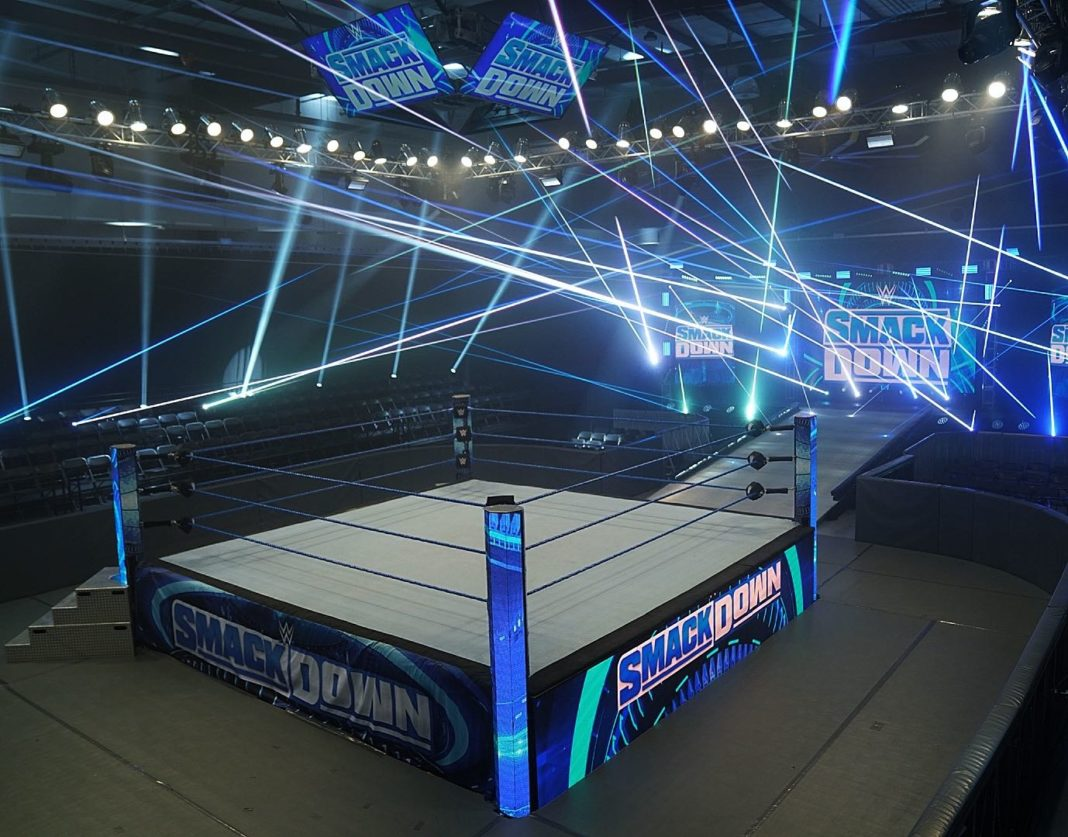 WWE SmackDown im Performance Center - (c) 2020 WWE. All Rights Reserved.
