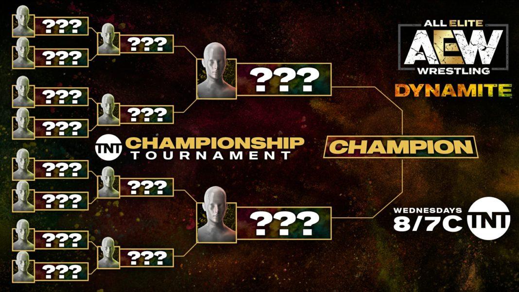 Bracket für AEW TNT Championship Turnier