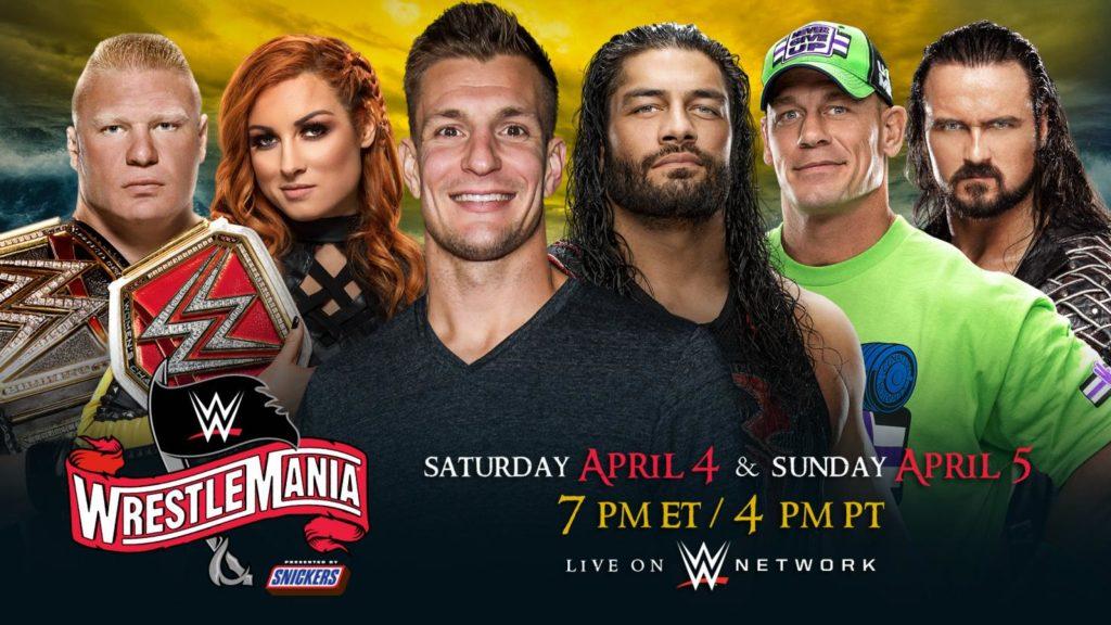 WWE WrestleMania an zwei Abenden