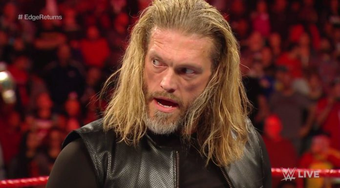 Edge - WWE Raw - (c) 2020 WWE. All Rights Reserved.