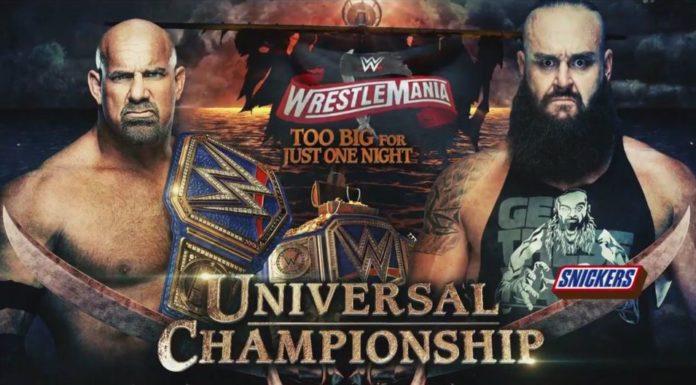 Goldberg vs. Strowman - WrestleMania