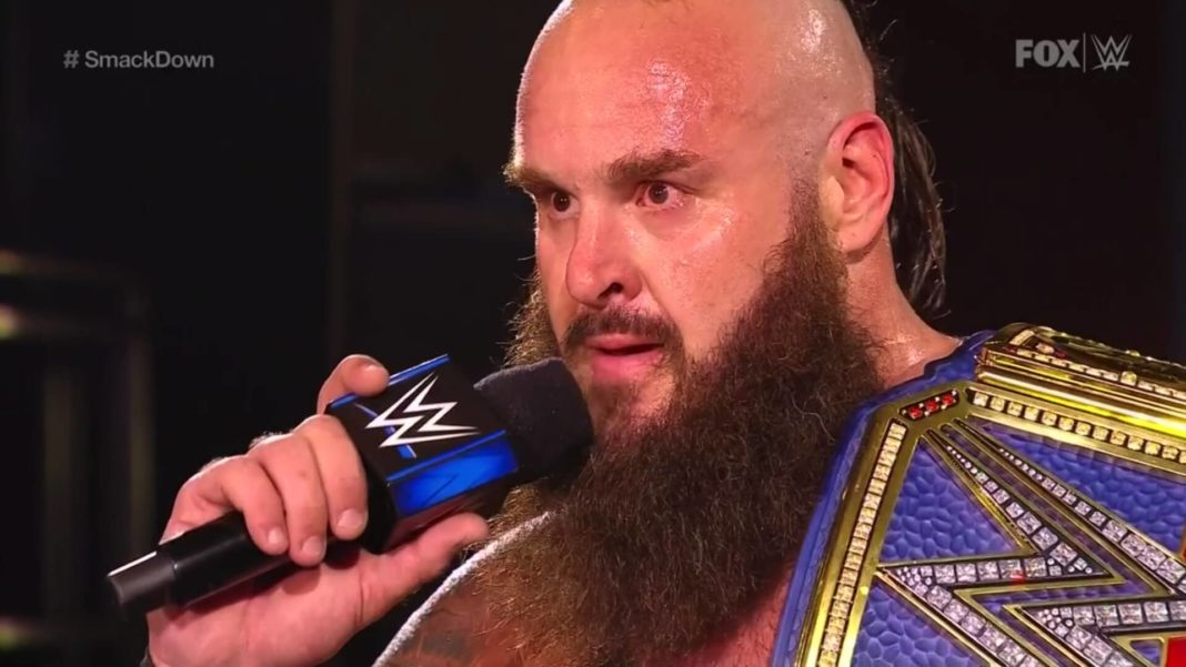 Braun Strowman - Universal Champion - (c) 2020 WWE. All Rights Reserved.
