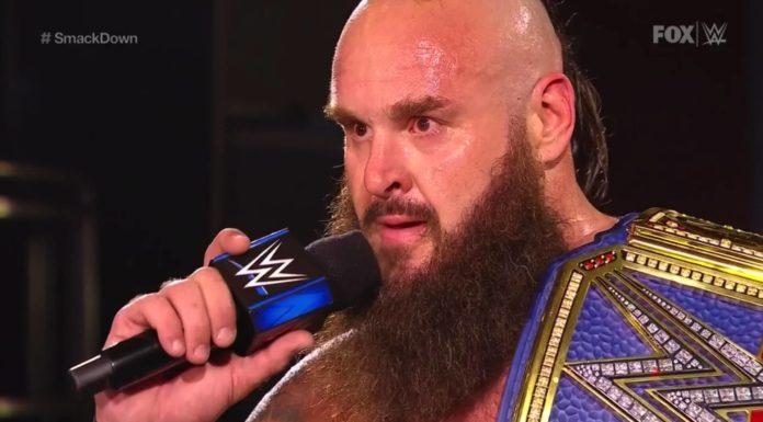 Braun Strowman als Universal Champion - (c) 2020 WWE. All Rights Reserved.