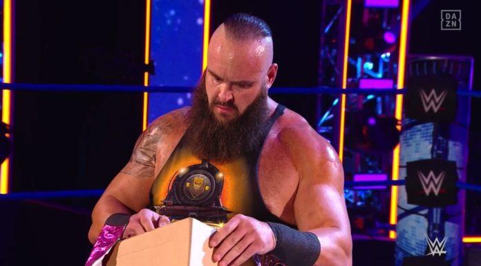 Braun Strowman hat ein Geschenk erhalten - (c) 2020 WWE. All Rights Reserved.