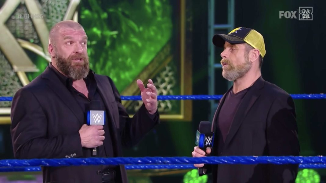 Triple H und Shawn Michaels - (c) 2020 WWE. All Rights Reserved.