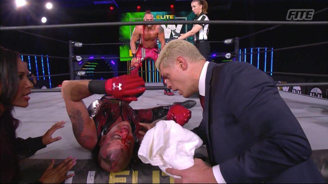 Cody will das Handtuch für seinen Bruder im TNT-Titel-Turnier nicht werfen