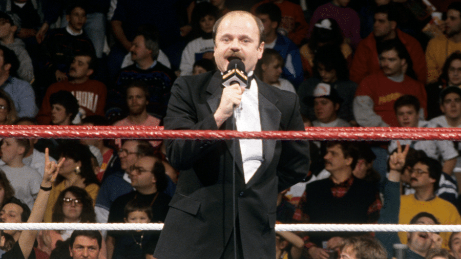Howard Finkel - (c) 2020 WWE. All Rights Reserved.