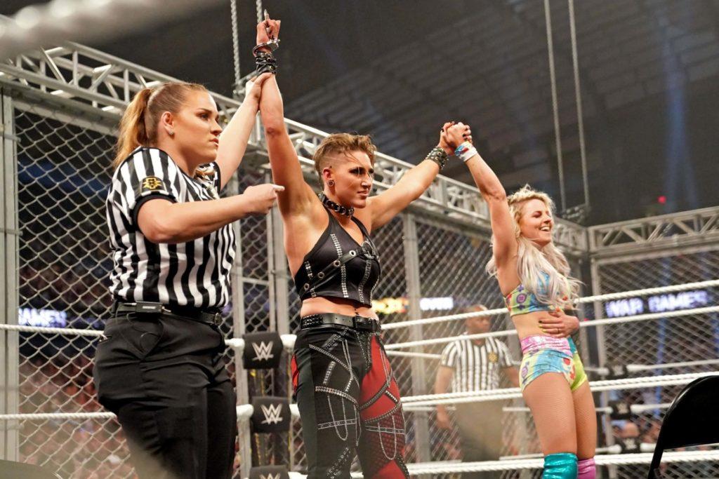 Der Sieg in den WarGames (November 2019) (c) 2020 WWE. All Rights Reserved.