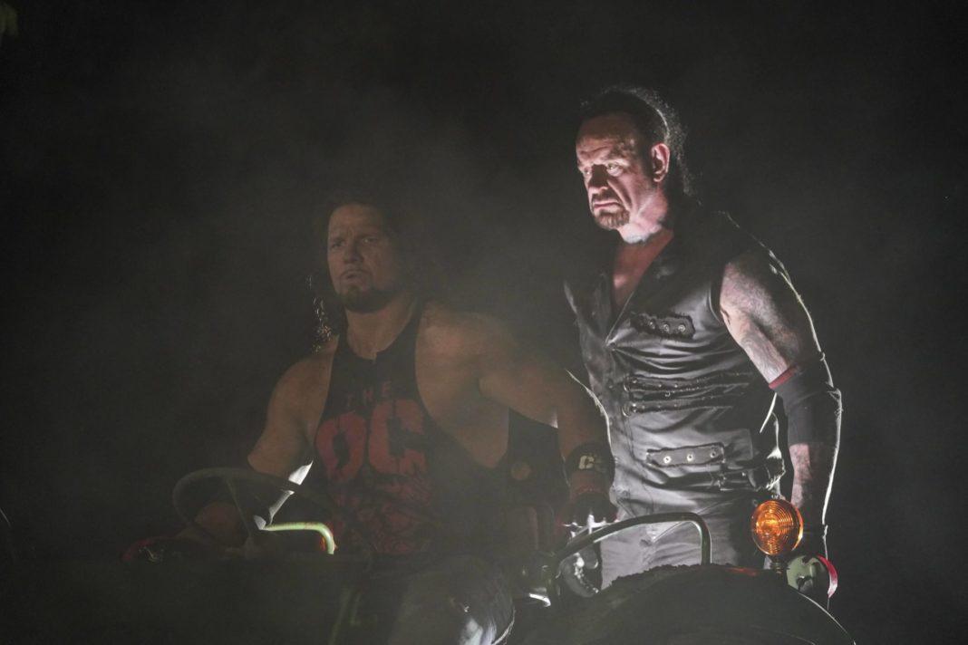 AJ Styles vs. Undertaker - Boneyard Match - (c) 2020 WWE. All Rights Reserved.