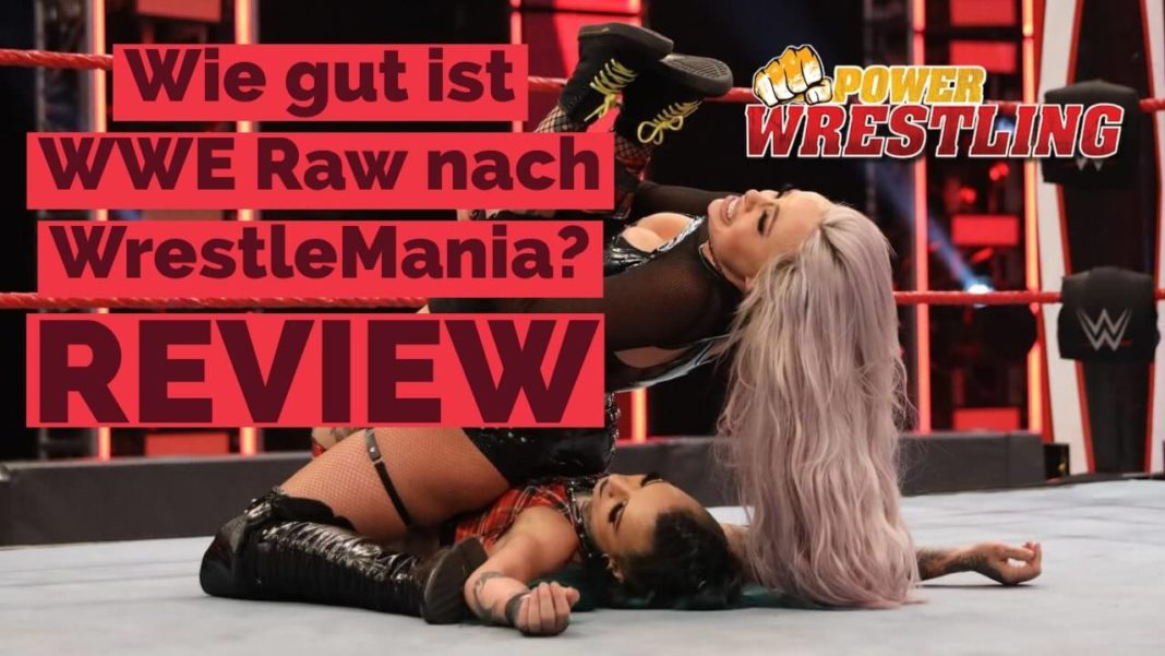 WWE Raw Review - 27.4.20 - Bild: (c) 2020 WWE. All Rights Reserved.