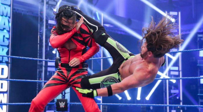 AJ Styles vs. Shinsuke Nakamura - WWE SmackDown - (c) 2020 WWE. All Rights Reserved.