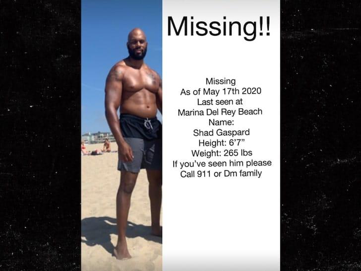 Suche nach Shad Gaspard