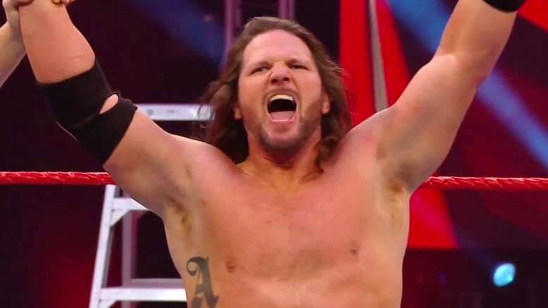 AJ Styles ist zurück bei WWE Raw