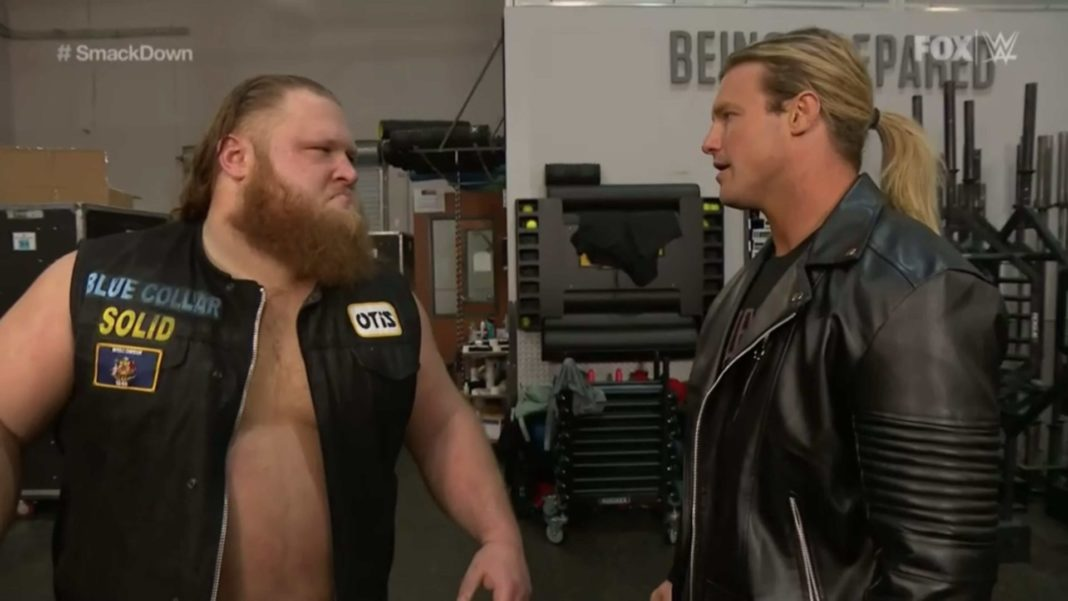 Dolph und Otis bei WWE SmackDown am 1. Mai 2020 - (c) 2020 WWE. All Rights Reserved.