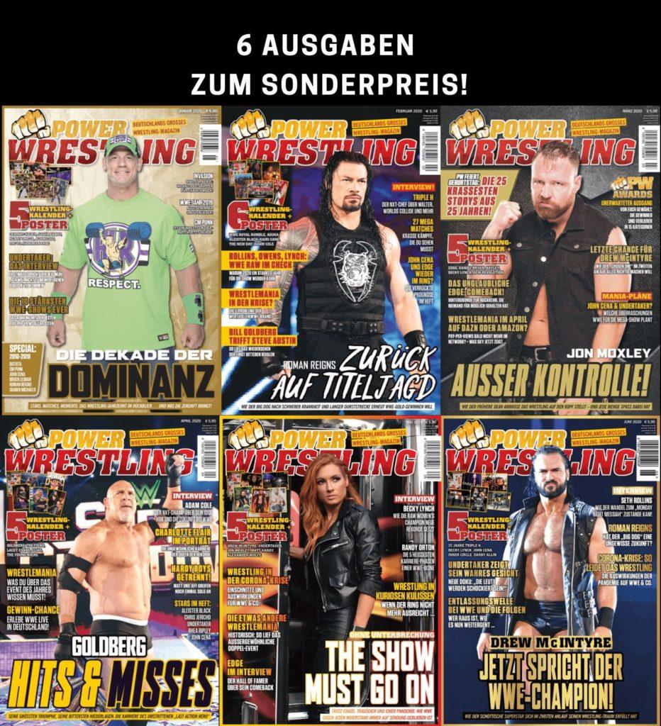 Power-Wrestling Halbjahrespaket 2020
