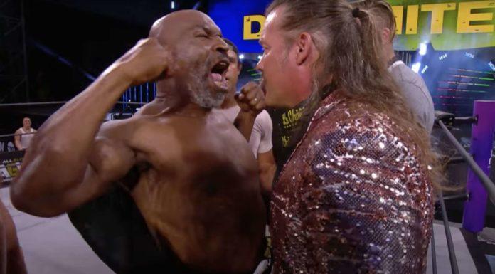 """Iron"" Mike Tyson vs. Chris Jericho - AEW Dynamite"