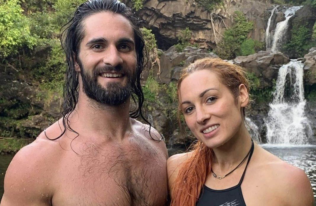 Privates Glück: Seth Rollins und Becky Lynch - Quelle: instagram.com/beckylynchwwe