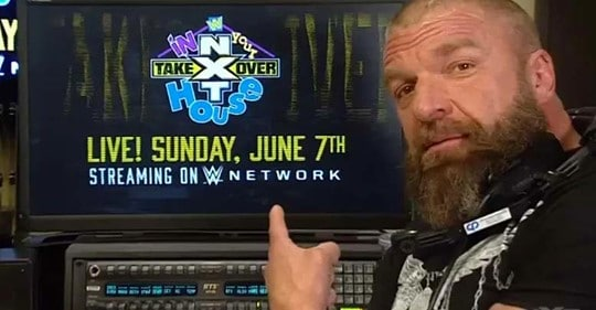 Triple H kündigt NXT TakeOver: In Your House an