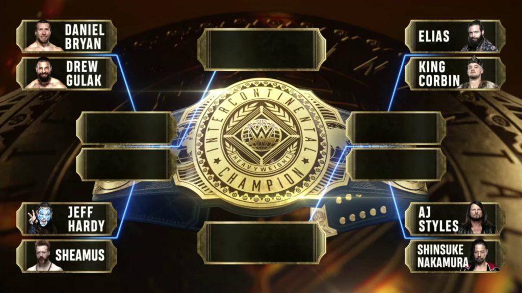 Intercontinental Champion gesucht! Der Turnierbaum