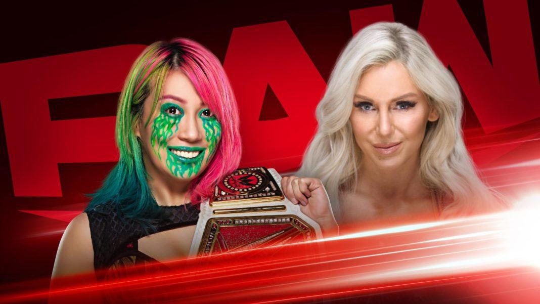 Asuka vs. Charlotte um die Raw Women's Championship steht an