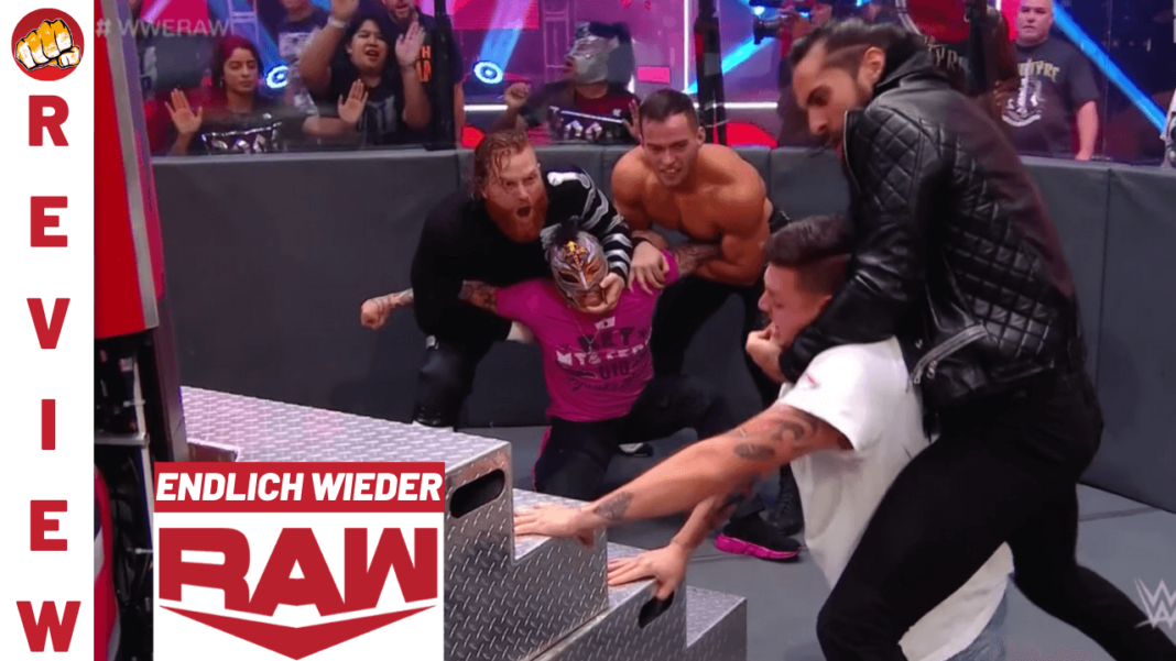 WWE Raw Review zur Ausgabe vom 22. Juni 2020