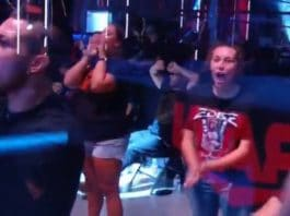 Gäste im WWE Performance Center