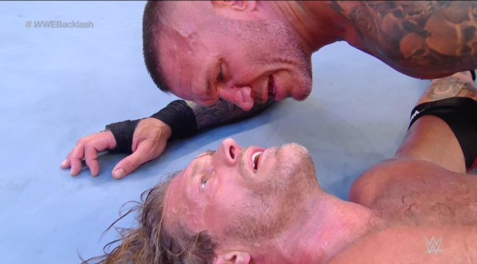 """""""The Greatest Wrestling Match Ever"""" bei WWE Backlash 2020 - (c) 2020 WWE. All Rights Reserved."""