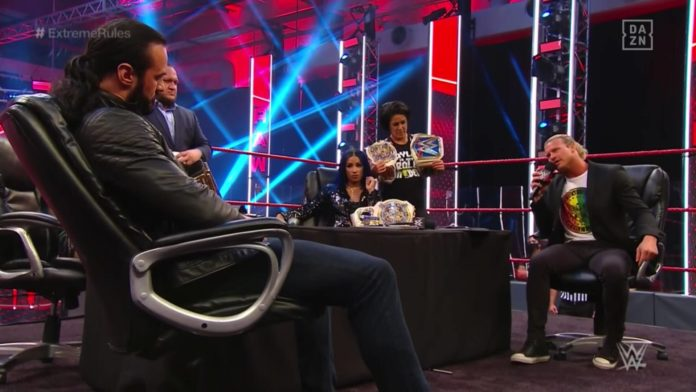 WWE Raw - 29. Juni 2020 - (c) 2020 WWE. All Rights Reserved.