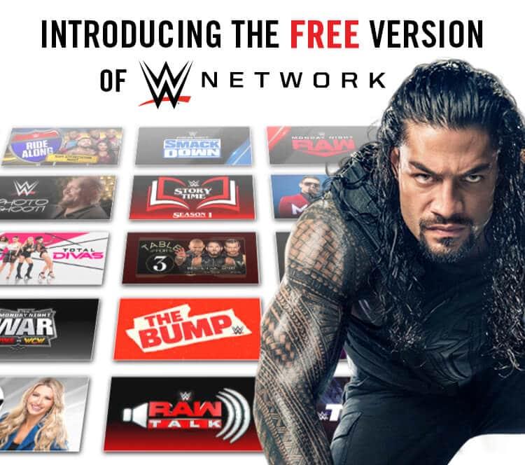 Das WWE Network gibt es jetzt auch for free!