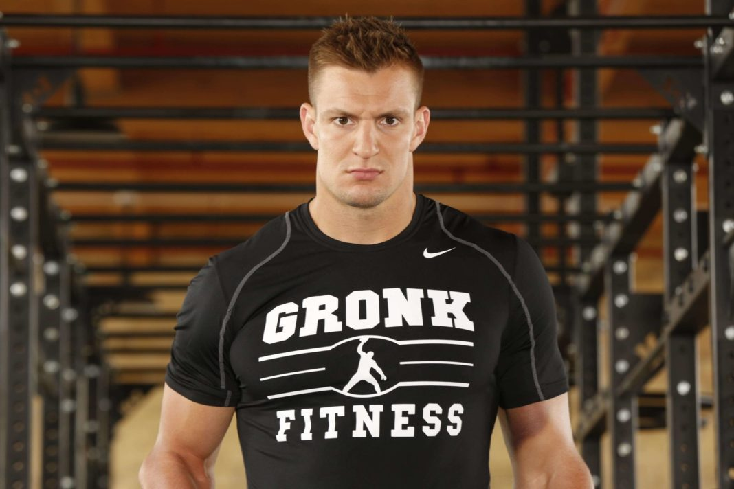 NFL-Legende mit WWE-Erfahrung: Rob Gronkowski (Foto: (c) 2020 WWE. All Rights Reserved.)