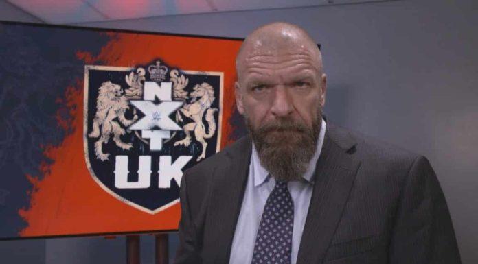 Triple H ist der Chef der WWE NXT UK-Brand