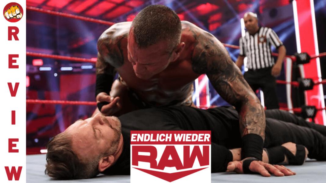 WWE Raw Review zur Ausgabe vom 15. Juni 2020