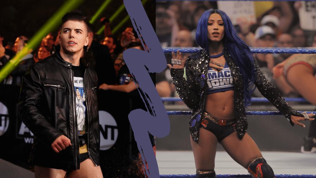Sammy Guevara holt ein alter Kommentar über Sasha Banks ein