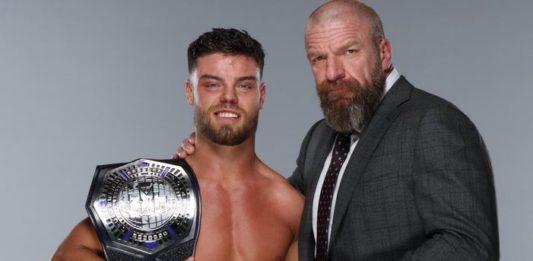 Triple H präsentiert NXT Cruiserweight Champion Jordan Devlin - (c) 2020 WWE. All Rights Reserved.