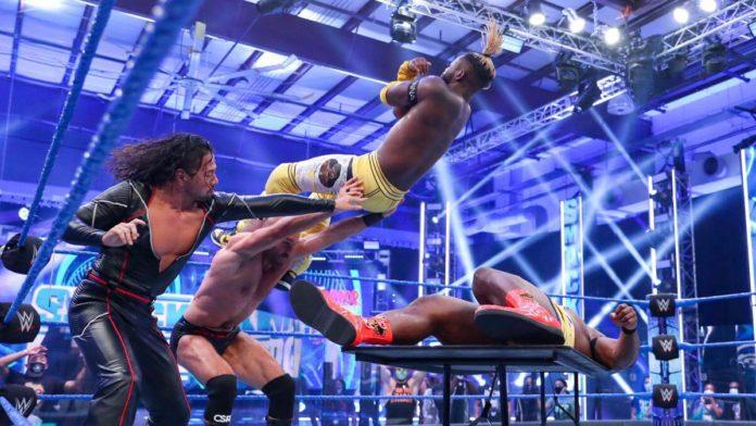 WWE SmackDown am 10.7.20 endet mit einer unsanften Powerbomb für New Day - (c) 2020 WWE. All Rights Reserved.