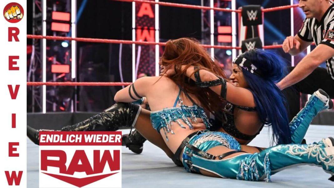 WWE Raw vom 13. Juli 2020 im Podcast-Review