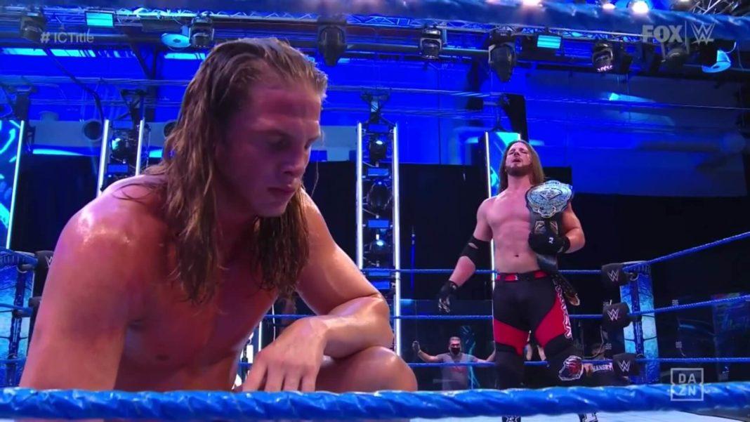 WWE SmackDown - 17. Juli 2020 - Matt Riddle ist enttäuscht