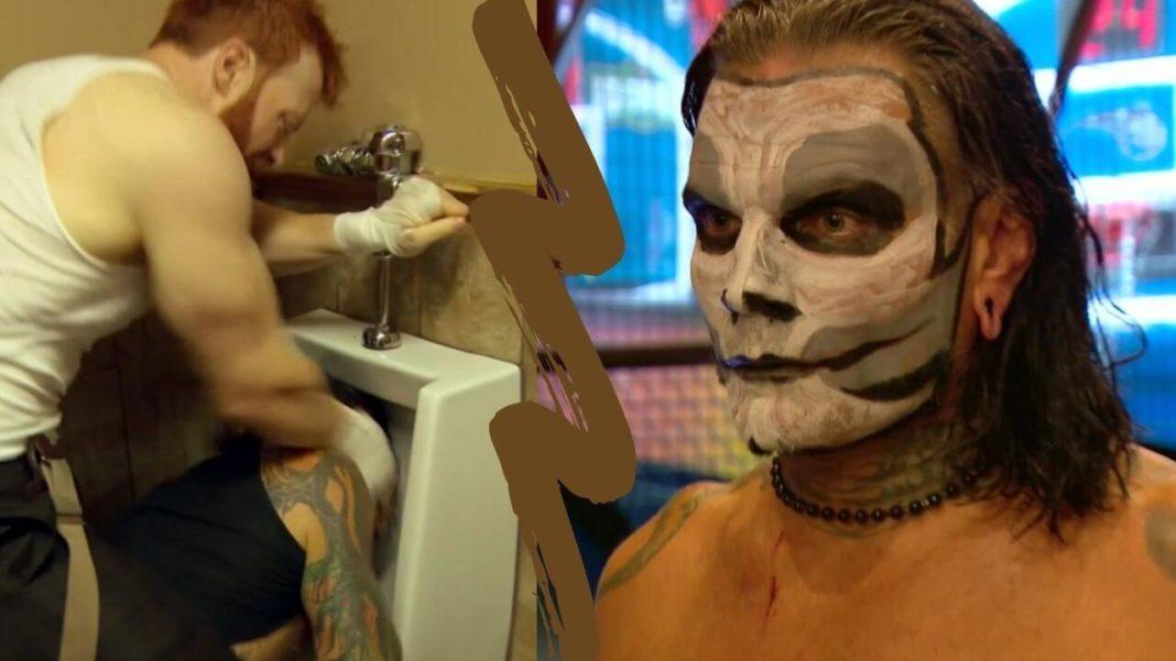Der Bar Fight bei WWE SmackDown am 24. Juli 2020 - (c) 2020 WWE. All Rights Reserved.