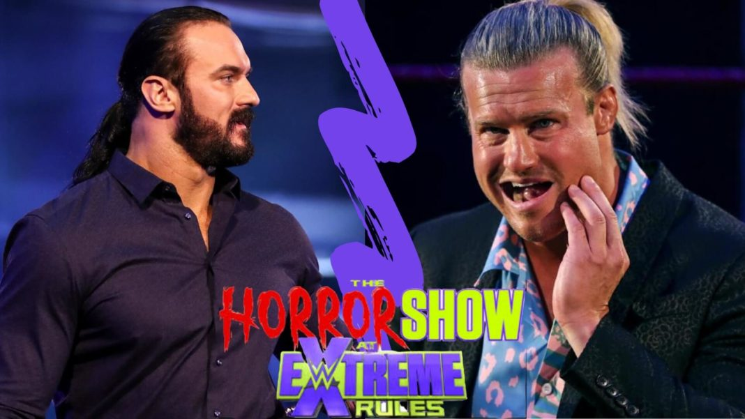 Drew McIntyre vs. Dolph Ziggler bei der Horror Show at WWE Extreme Rules 2020 - Bilder: (c) 2020 WWE. All Rights Reserved.