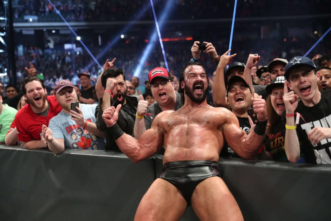 Drew McIntyre gewinnt den WWE Royal Rumble 2020 - (c) 2020 WWE. All Rights Reserved.
