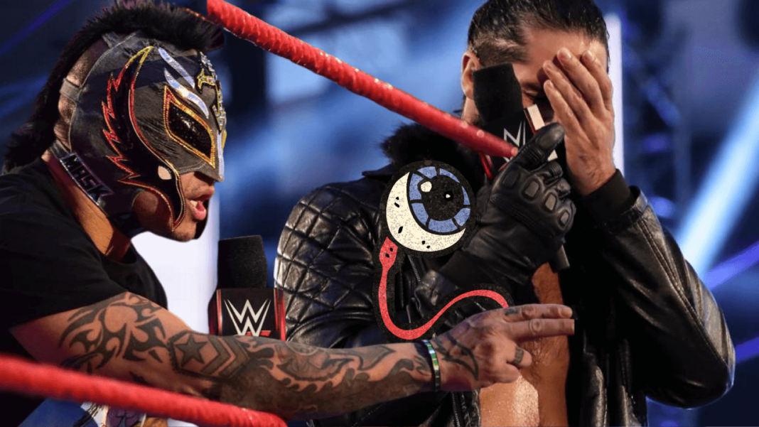 WWE Raw - 13.7.20 - Eye For An Eye! - (c) 2020 WWE. All Rights Reserved.