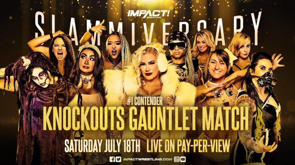 Die Suche nach der neuen #1-Herausforderin in einem Gauntlet For The Gold bei IMPACT Wrestling Slammiversary 2020
