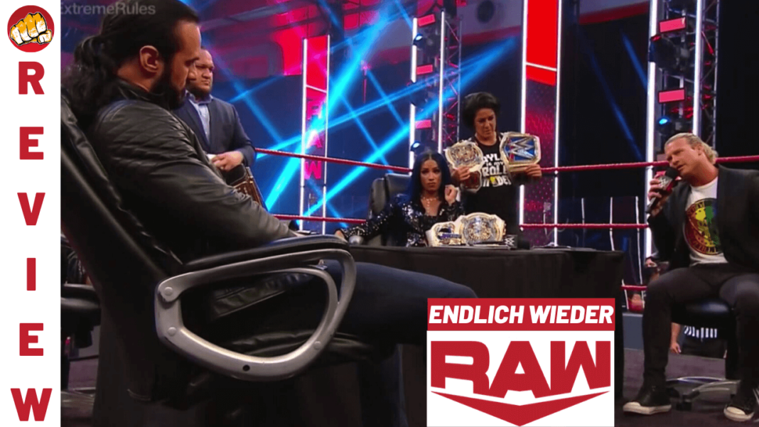 WWE Raw Review - Podcast - Ausgabe vom 29. Juni 2020
