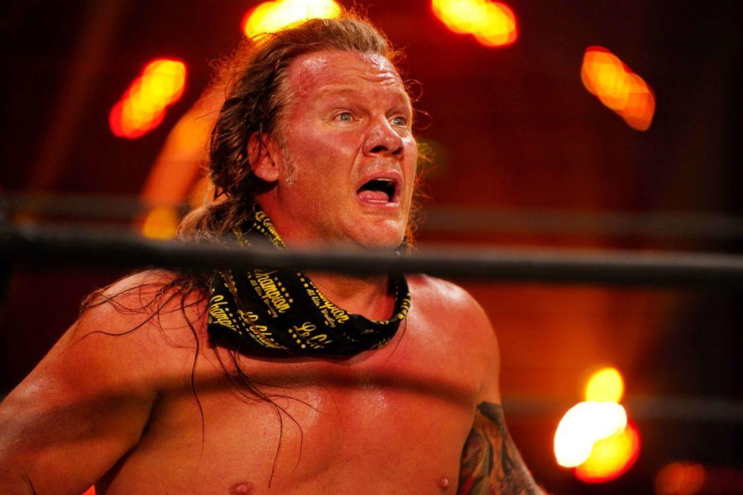 Wrestling-Legende Chris Jericho ist entsetzt (Bild: Lee South, AEW)