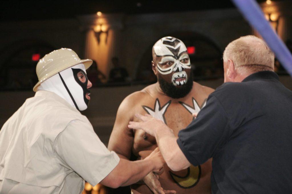 Die Wrestling-Regeln waren Kamala nicht immer ganz geläufig