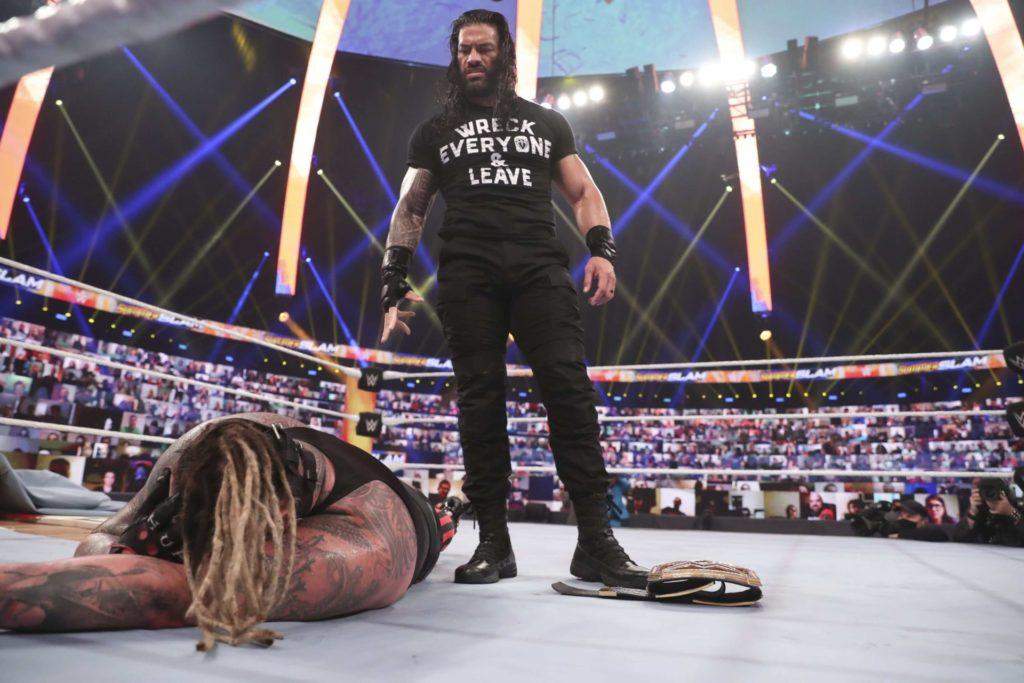 Roman Reigns kehrt beim WWE SummerSlam 2020 zurück - (c) 2020 WWE. All Rights Reserved.