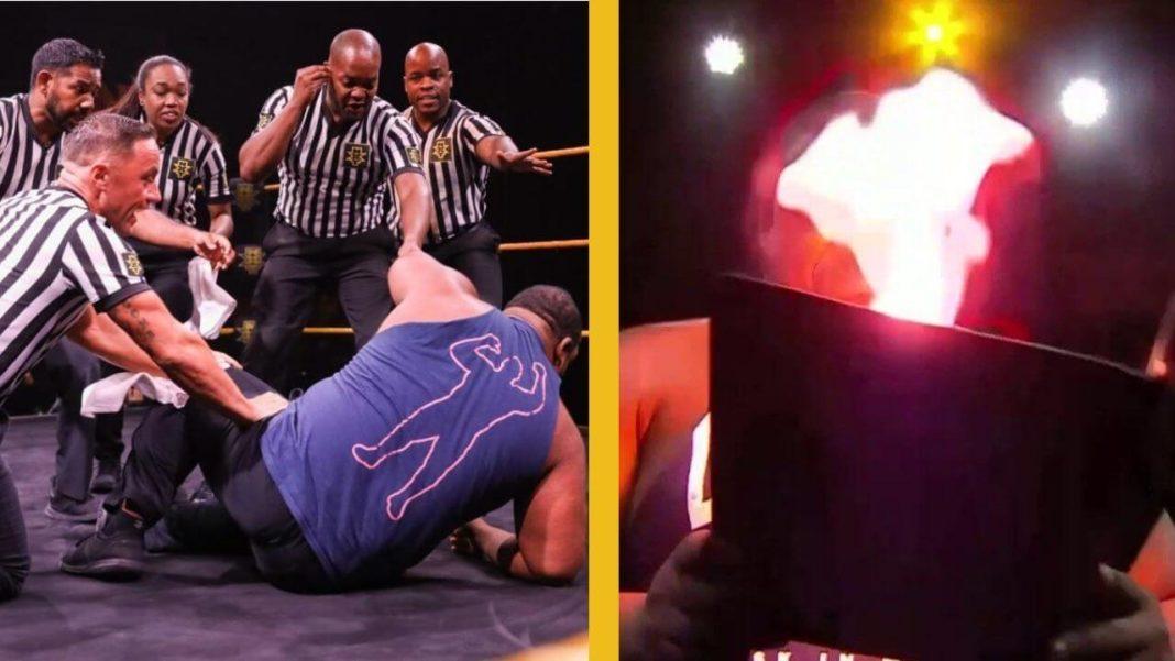 Feuer & Flamme bei WWE NXT vom 12. August 2020