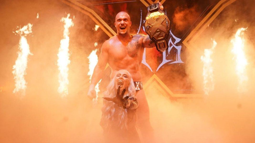 WWE NXT: Karrion Kross und Scarlett - (c) 2020 WWE All Rights Reserved.