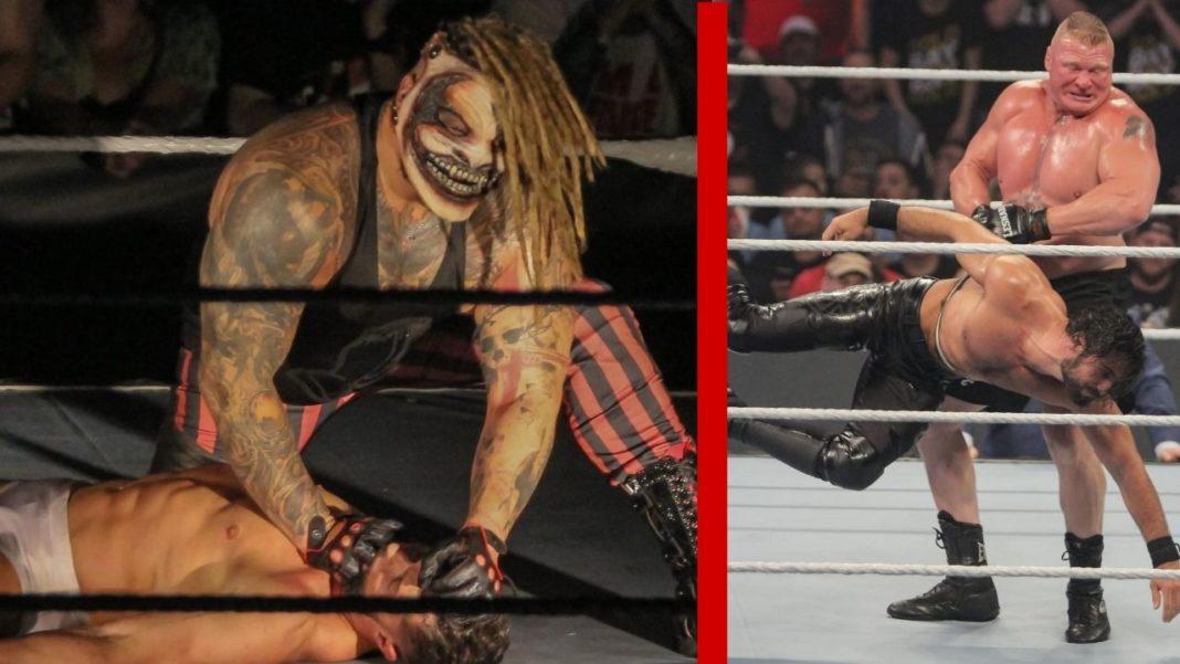 Beim WWE SummerSlam 2019 sahen wir erstmals den Fiend und Brock Lesnar vs. Seth Rollins - (c) 2020 WWE. All Rights Reserved.